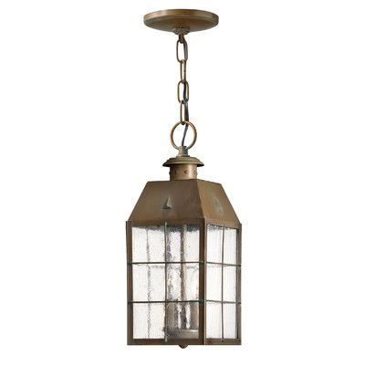 Hinkley Lighting Nantucket 2 Light Outdoor Hanging Lantern Reviews Wayfair