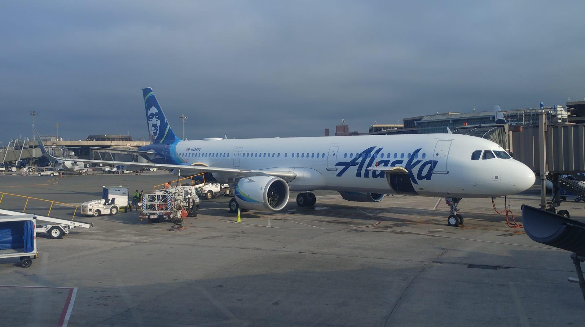 Alaska Airlines / Ted Stevens Airport