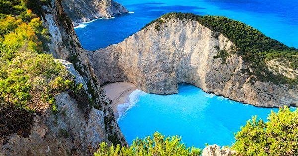 Navagio Bay Zakynthos Greece