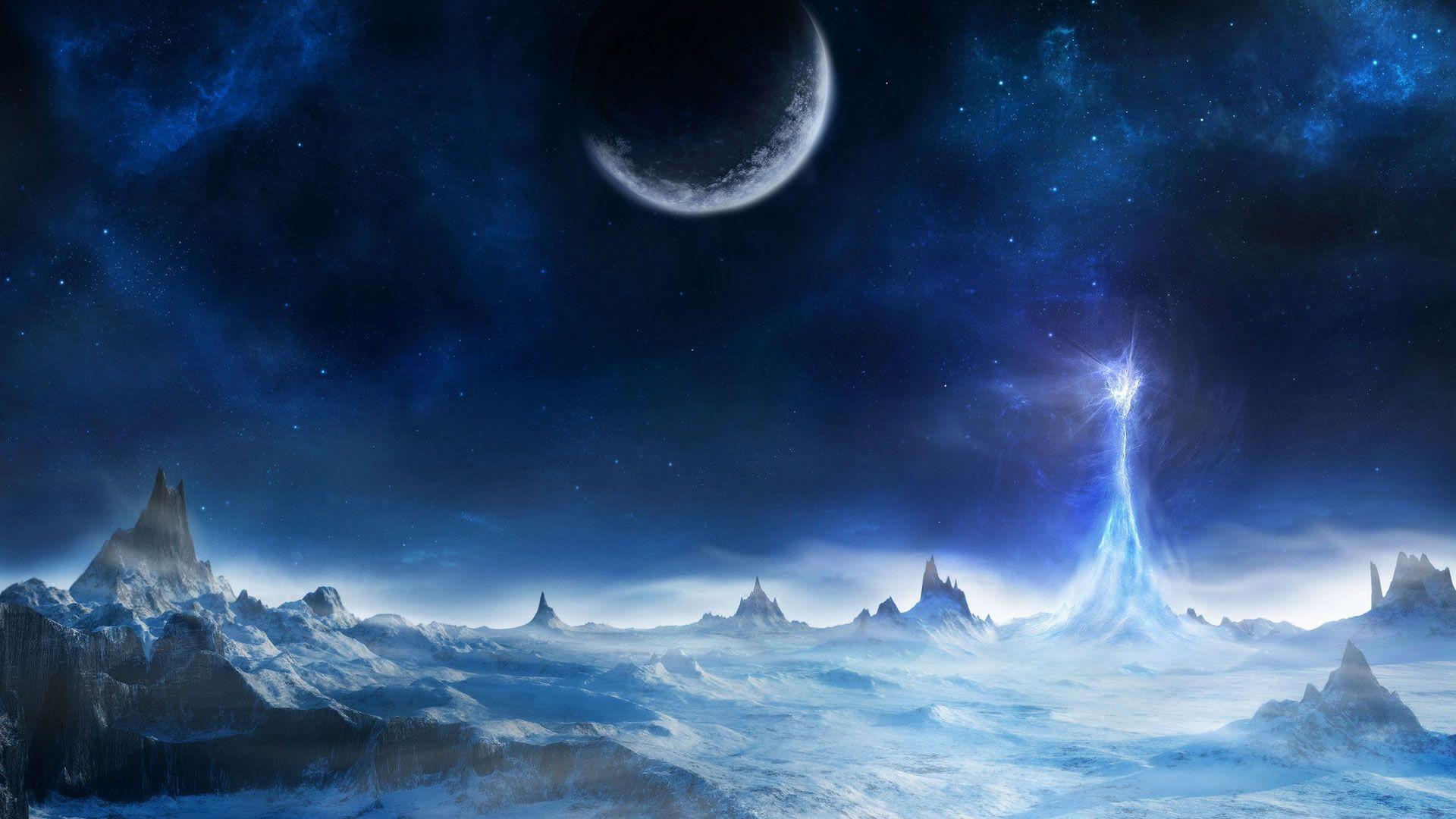 Fantasy Desktop Backgrounds 15441 Hd Wallpapers Site Fantasticheskij Mir Hudozhestvennoe Prostranstvo Fentezi