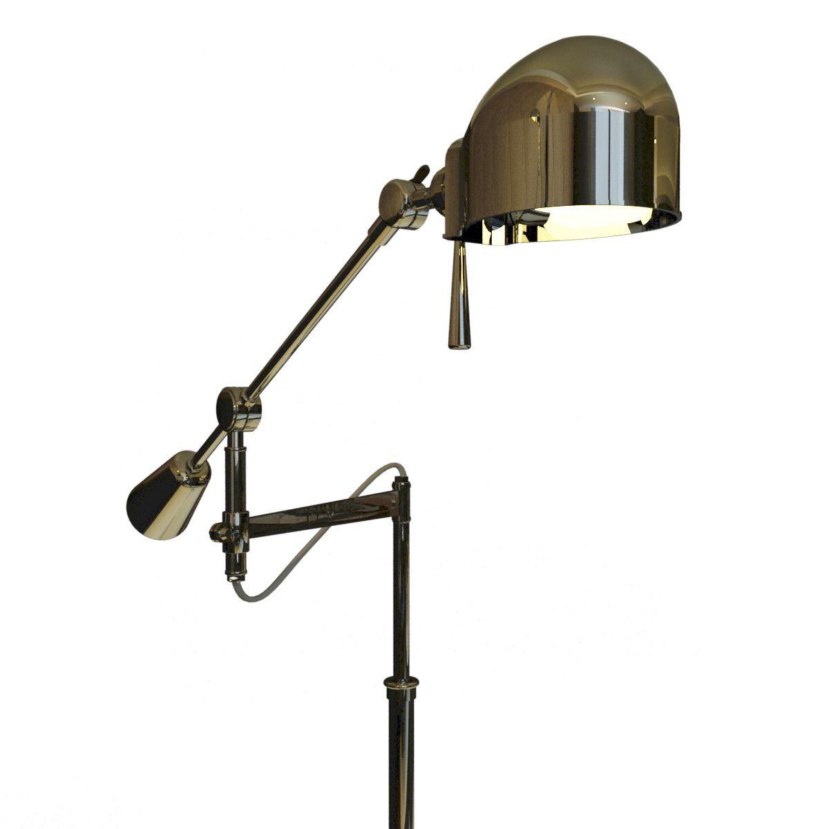 Boom arm floor lamp 3d model 3d model 3d modeling pinterest boom arm floor lamp 3d model 3d model mozeypictures Images
