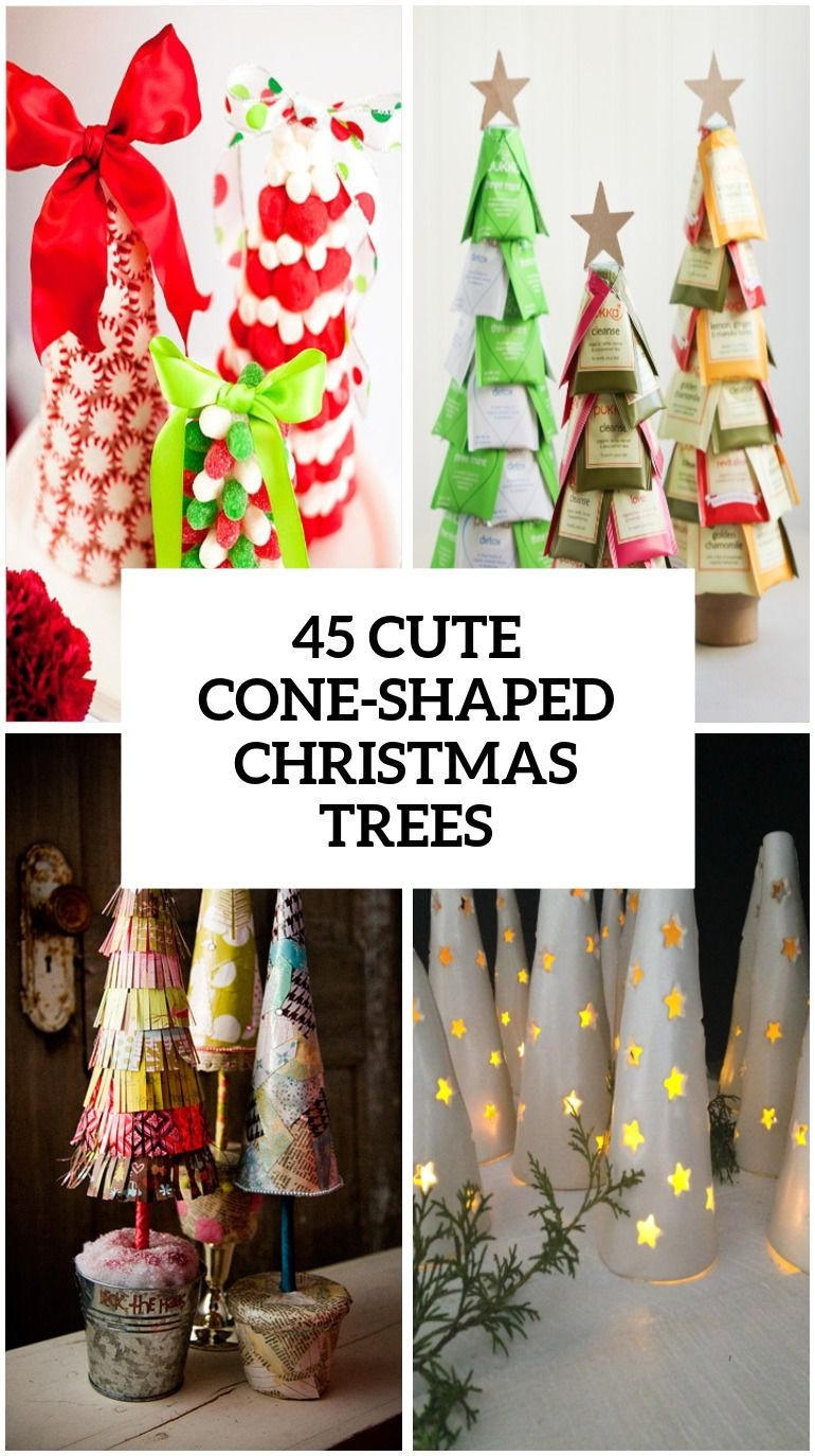 22 Gosh Darn Amazing Things To Do With A Cone Holiday Crafts