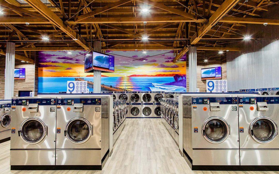 The Ocean Influences A Modern Laundromat In Ventura Western