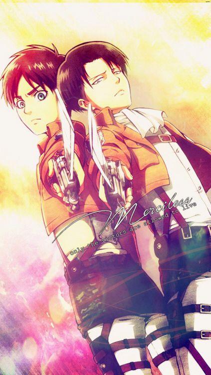 Shingeki no Kyojin levi uke fondo de pantalla Shingeki