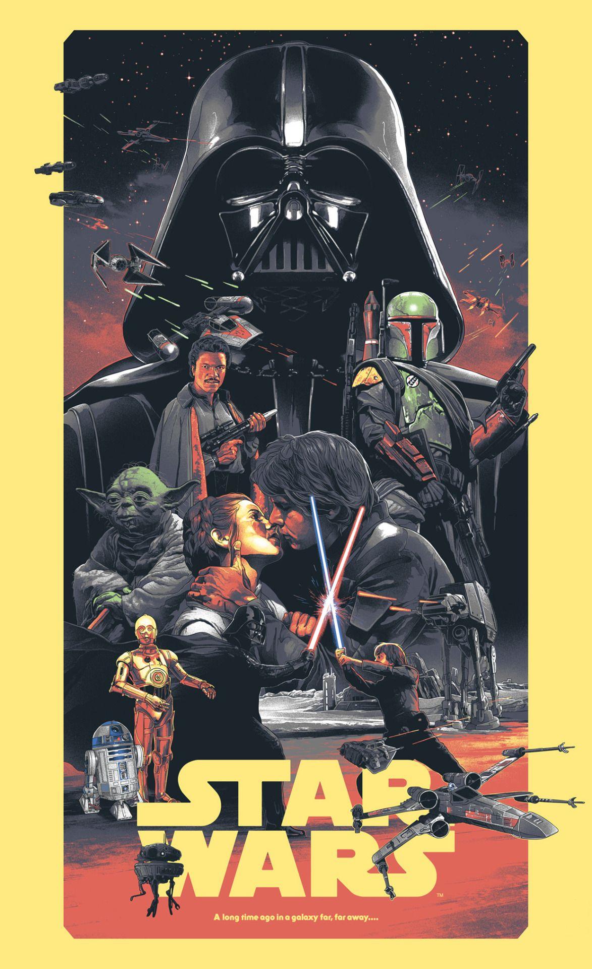 """""""Star Wars Trilogy"""" by Grzegorz Domaradzki"""