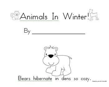Hibernation amp Animals In Winter