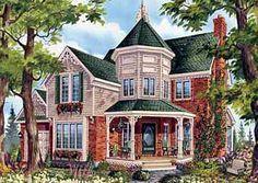 Plan 80698pm Genteel Victorian Victorian House Plans Victorian Homes Victorian Style Homes
