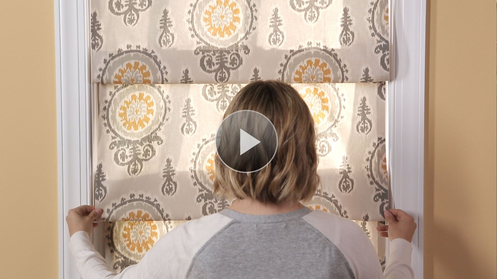 Watch the easiest window treatment ever in the better Better homes and gardens valances for small windows