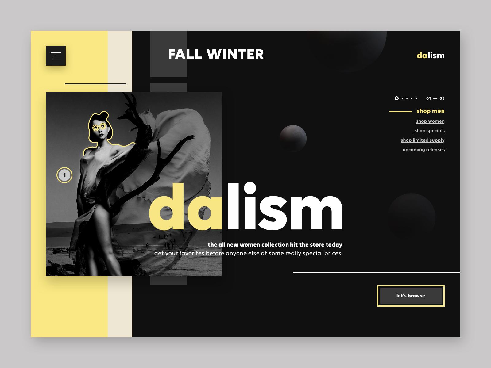 9c8aa8951f Dalism online fashion store ux ui design product design web dribbble shot7  4x