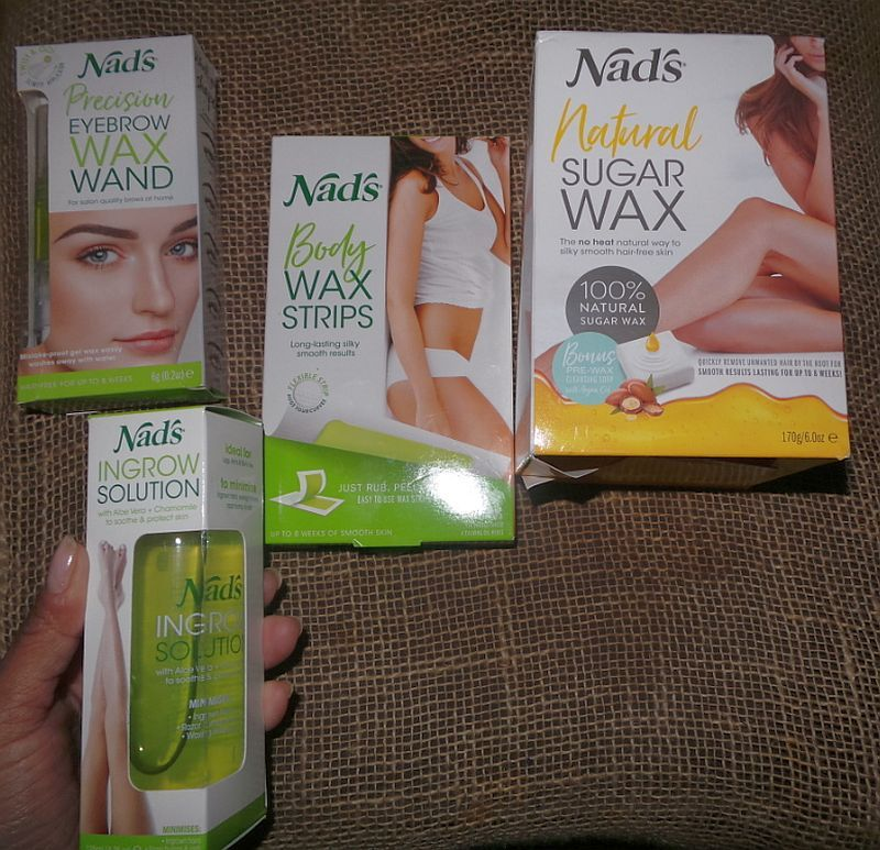 NEW Nads's Natural Sugar Wax and event recap Hair