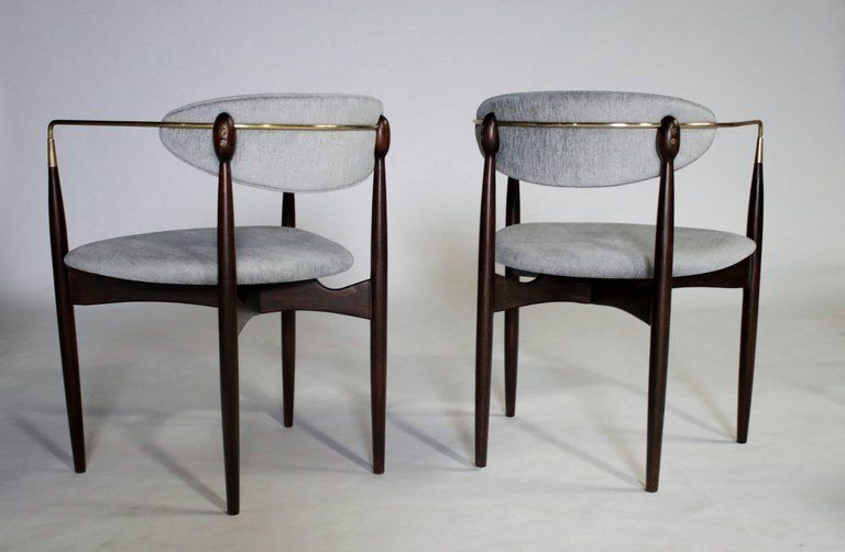 Mid Century Modern Viscount Chairs By Dan Johnson For Sale Chair