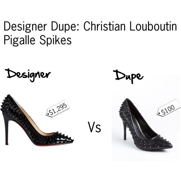 louboutin pigalle dupes