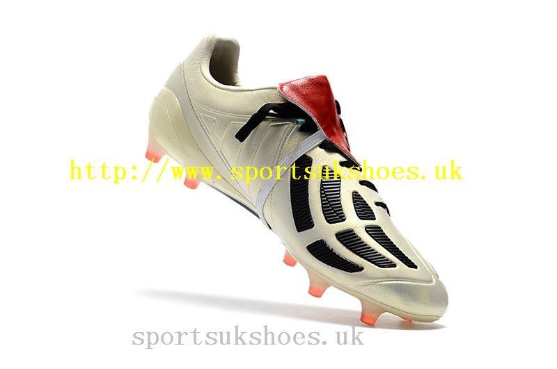 buy popular 6221b 93731 Buy Retro Adidas Predator Mania Champagne FG Football Boots - Off  White Core Black