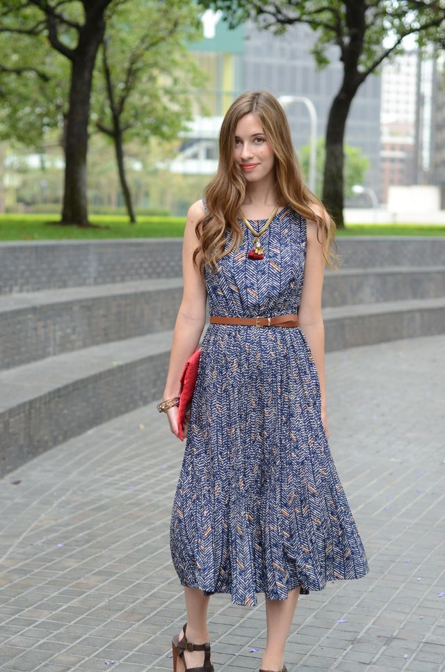 Love the long dress. From M Loves M.