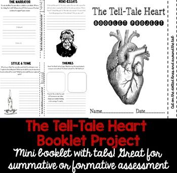 examples of tone in the tell tale heart