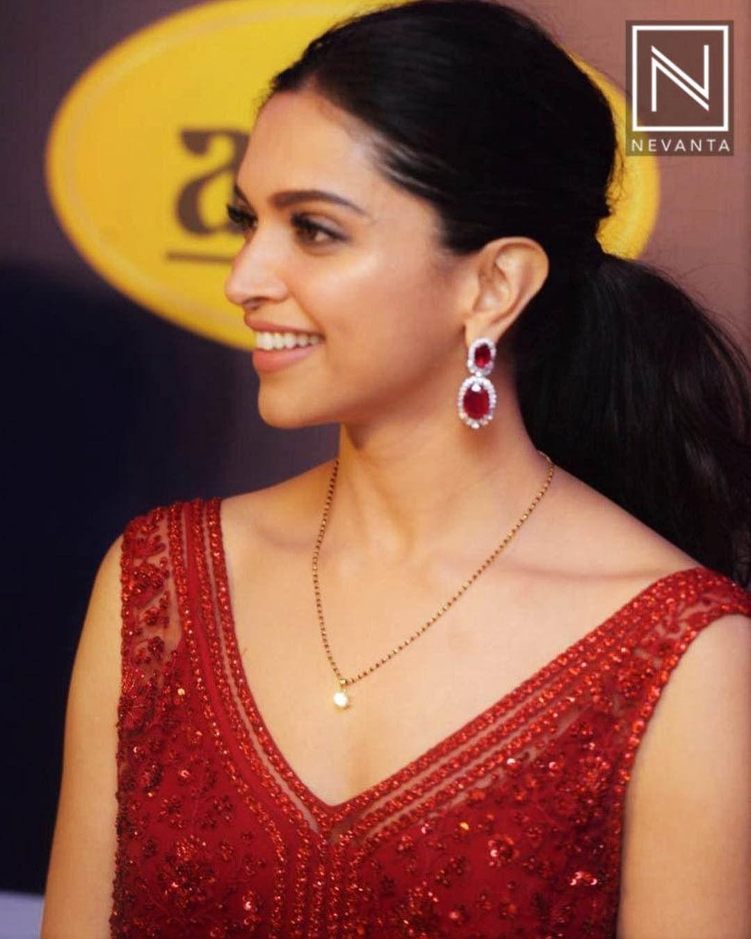 Deepika Padukone | Mangalsutra designs, Bridal jewellery ...