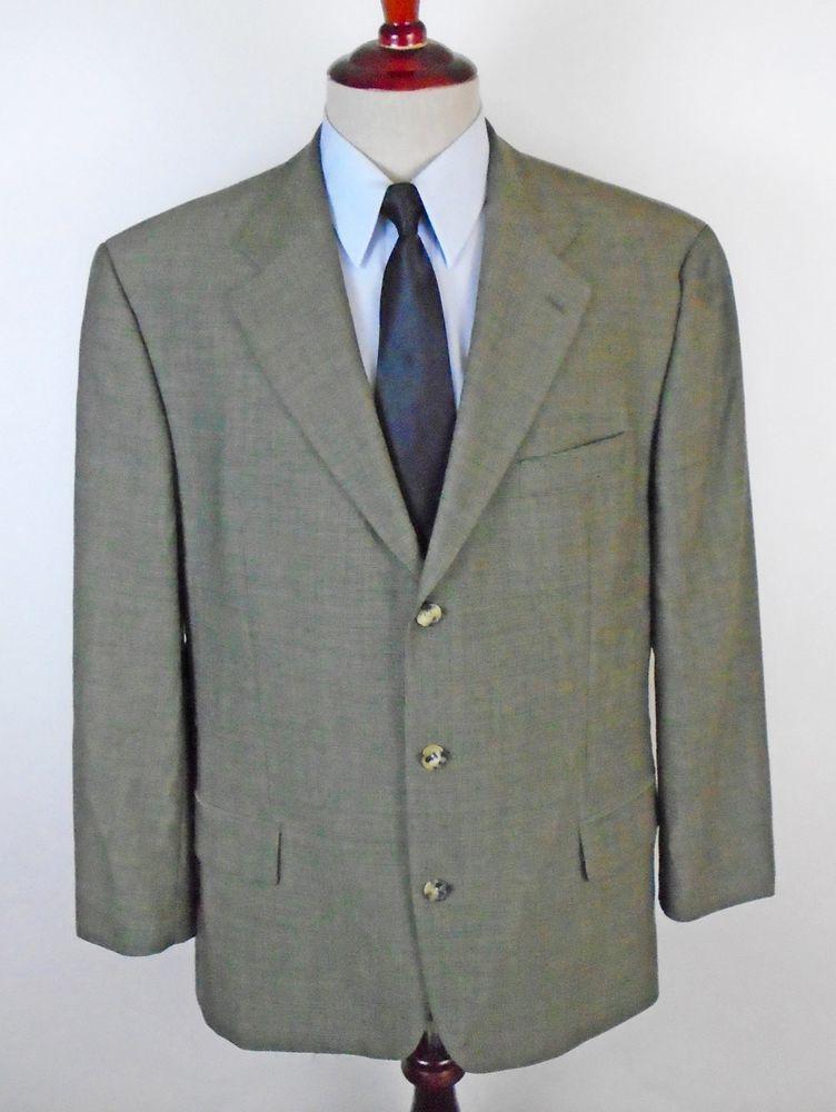 716816ca Hugo Boss Blazer Sport Coat Maximillien Paris Da Vinci 44R Dual Vent 3 Btn  Wool #HugoBoss #ThreeButton