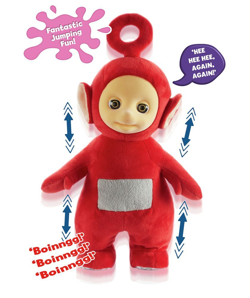 Buy Teletubbies Jumping Po Plush Soft Toy at Argos.co.uk - Your ...
