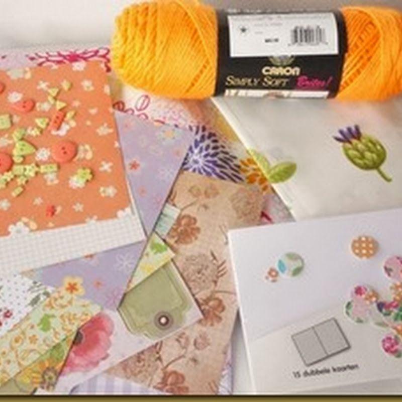 Jeanines hobby: Papier scheppen