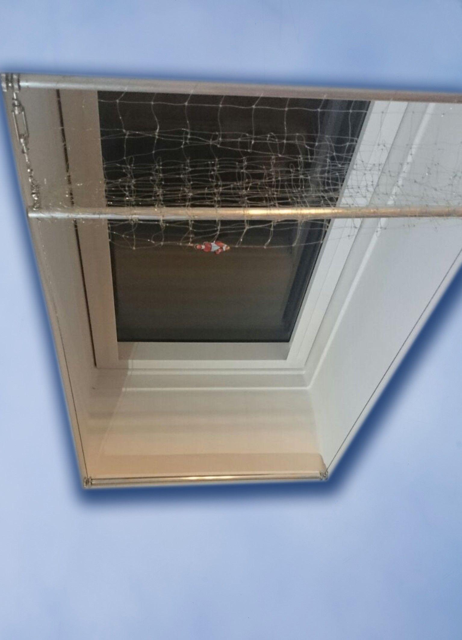 Dachflächenfenster maße  Katzennetz-Set für Dachflächenfenster, Maße bis B: 70cm H: 120cm ...