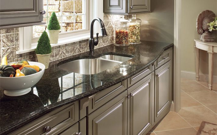 Best Blue Sapphire Granite White Cabinets Google Search 640 x 480