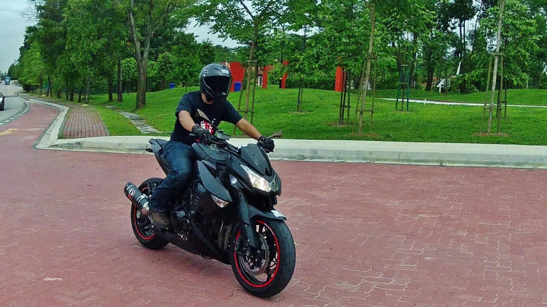 Kawasaki Ninja Z1000 Street Fighter