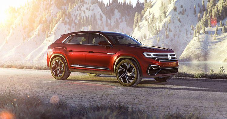 Volkswagen Unveils The Atlas Cross Sport Concept