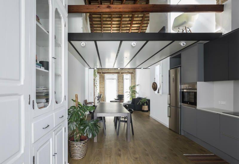 miniloftvalencialiving15 Design appartamenti, Spazi