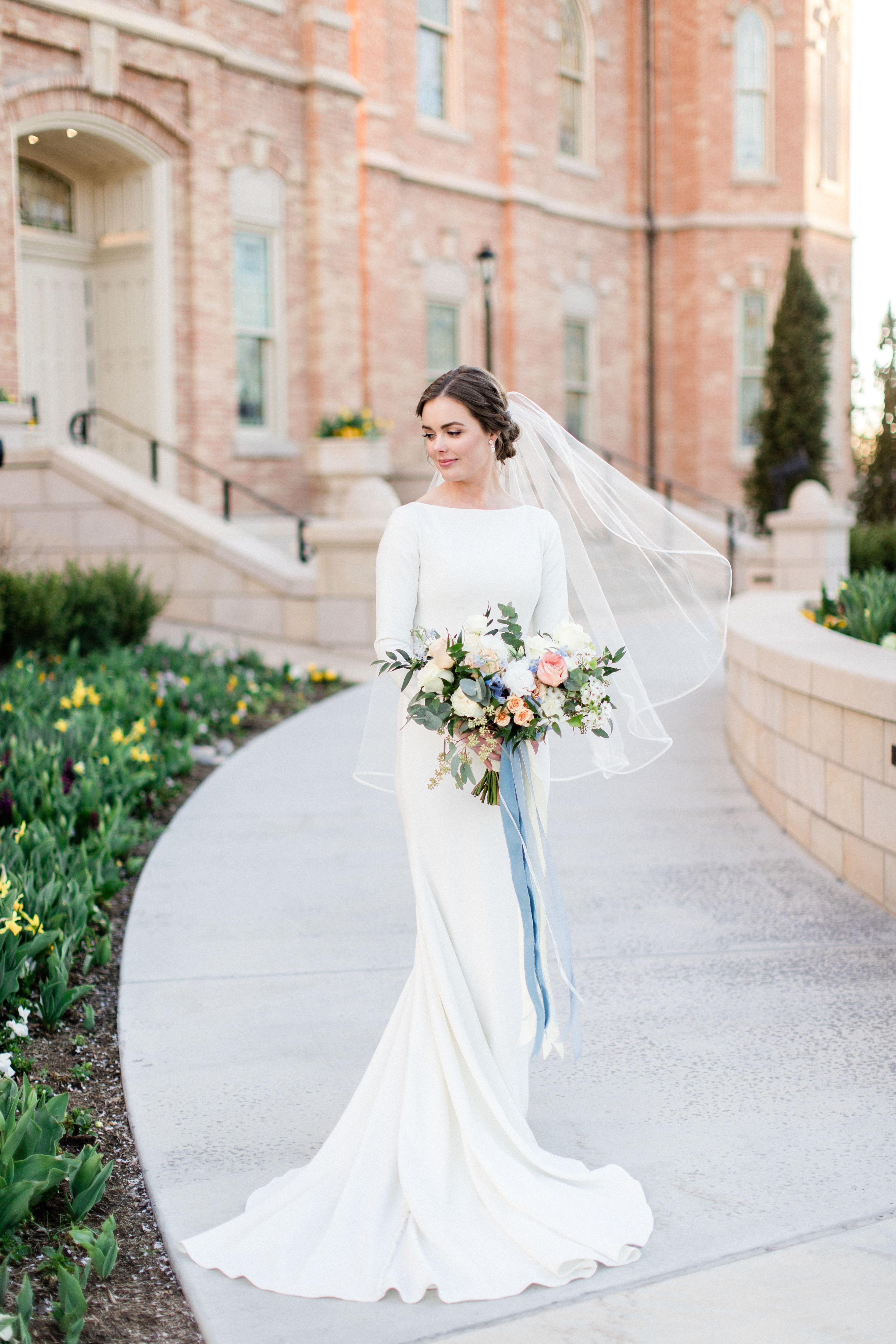 Markella In Stock Modest Long Sleeve Wedding Dresses Modest Wedding Dresses Wedding Dress Long Sleeve [ 5000 x 3333 Pixel ]