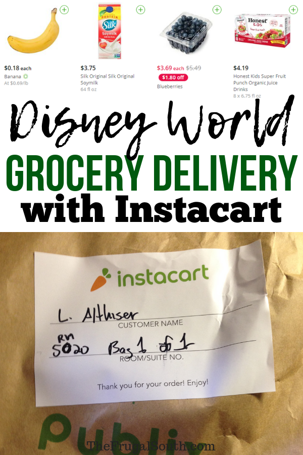 Instacart Disney World: Grocery Delivery To Your Hotel