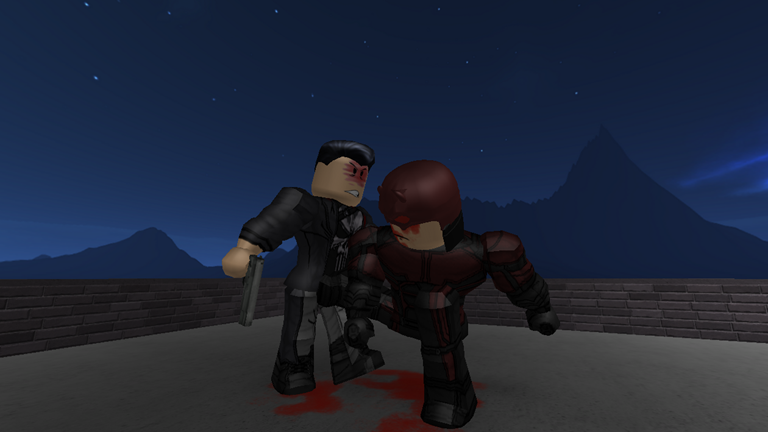Daredevil V Punisher - ROBLOX | Awesome Marvel Photos