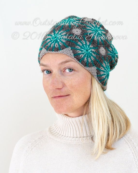 Outstanding Crochet: New Crochet Beanie Hat Pattern in my shop - Marian...