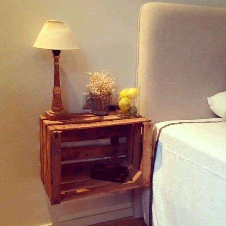 17 Muebles con huacales de madera