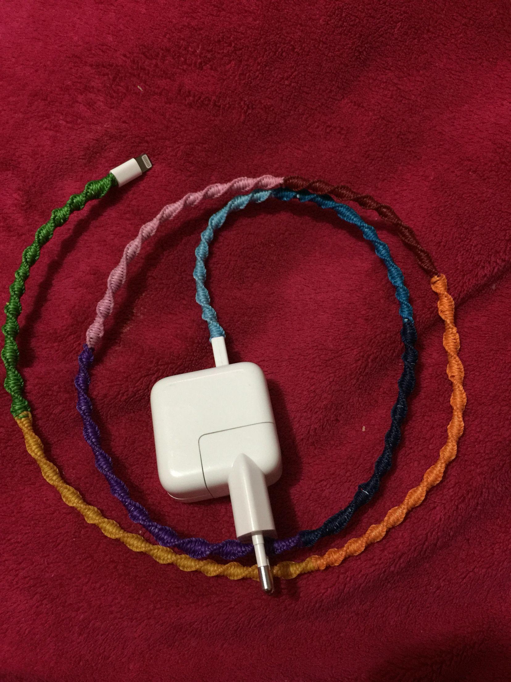 Revestimiento de cable hecho a mano #handcrafted