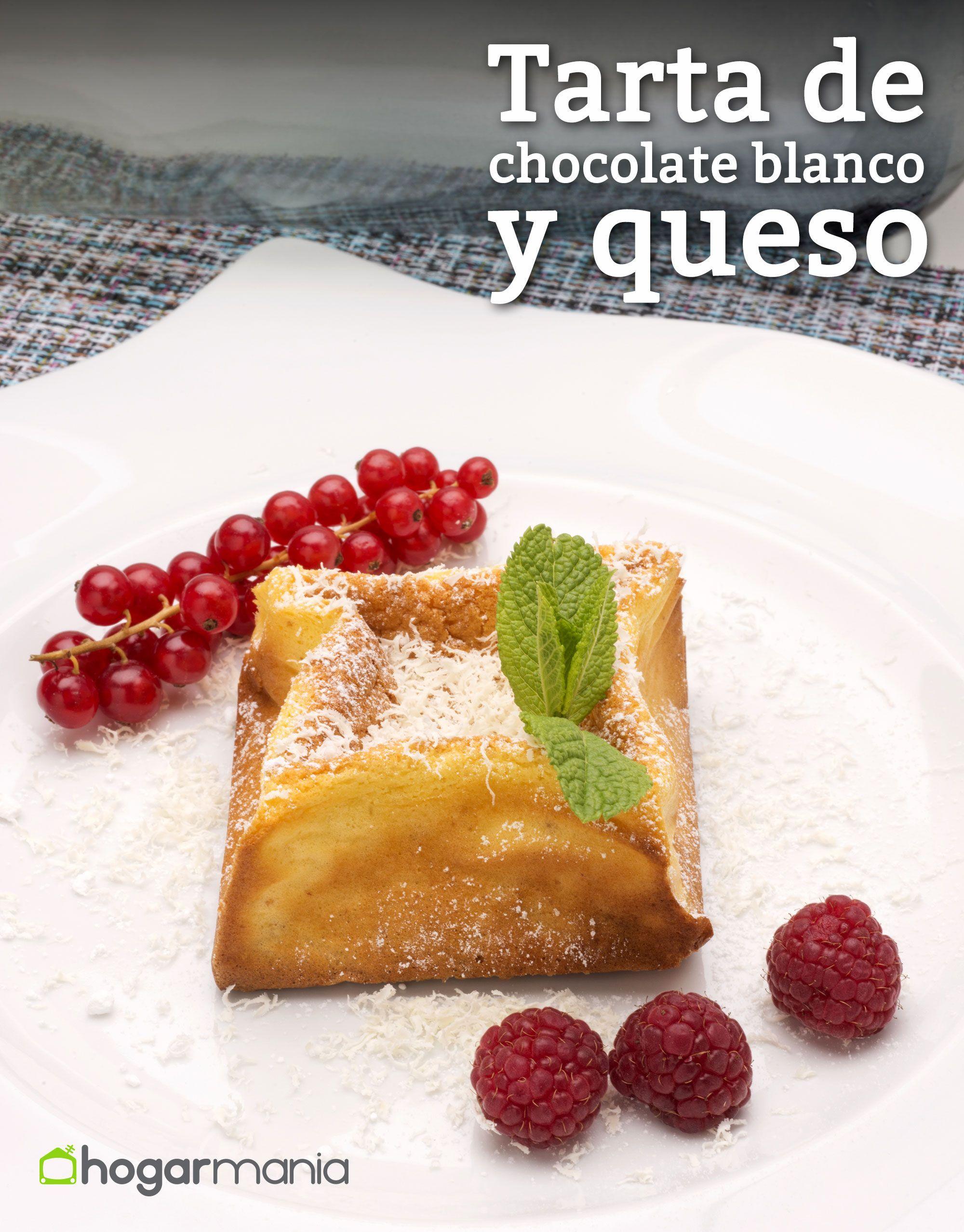 Receta De Tarta De Chocolate Blanco Y Queso Receta Recetas De
