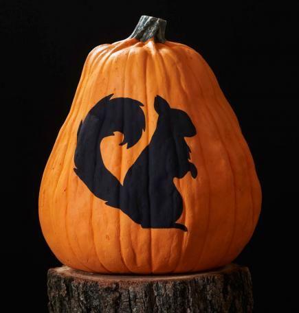 18++ Halloween pumpkin painting stencils trends