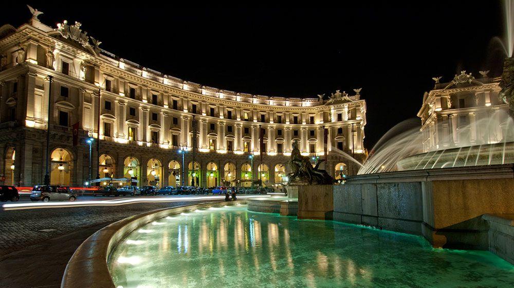 Boscolo Hotel Exedra Roma Rome Italy Rome Hotels Best Hotels