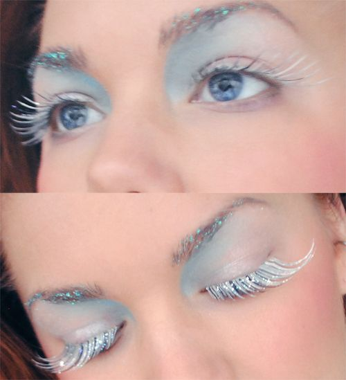 Frosty Costume Makeup Could Double As Mermaid Wonderland Makeup
