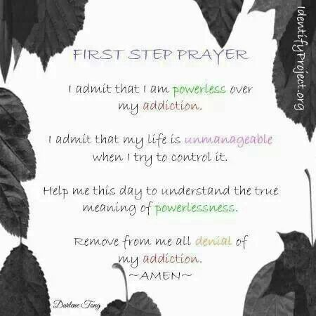 Worksheets Aa 1st Step Worksheets 17 best images about recovery step work on pinterest narcotics anonymous praise god and effects of alcohol