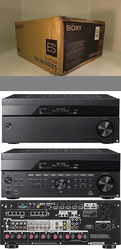 Stereo Receivers: Sony Str-Za3100es 7 2 Channel Surround