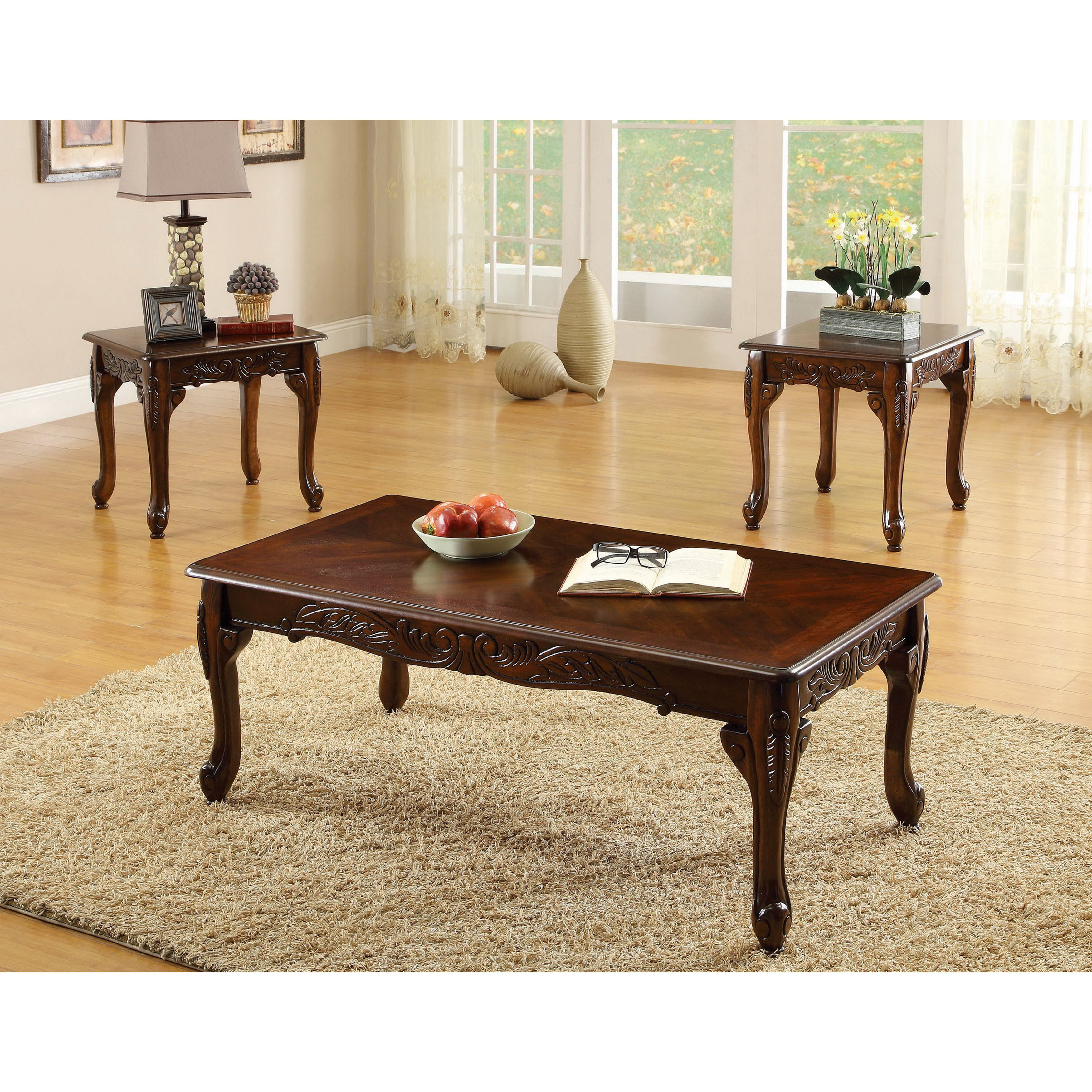 Overstock Com Online Shopping Bedding Furniture Electronics Jewelry Clothing More Living Room Sets Furniture 3 Piece Coffee Table Set Sofa End Tables [ 3500 x 3500 Pixel ]