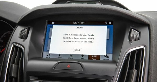 Ford Sync Life360 and AccuWeather apps | technology in the