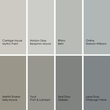 8 enticing grays for the kitchen 1 carriage house 157 3 - Benjamin moore shaker gray exterior ...