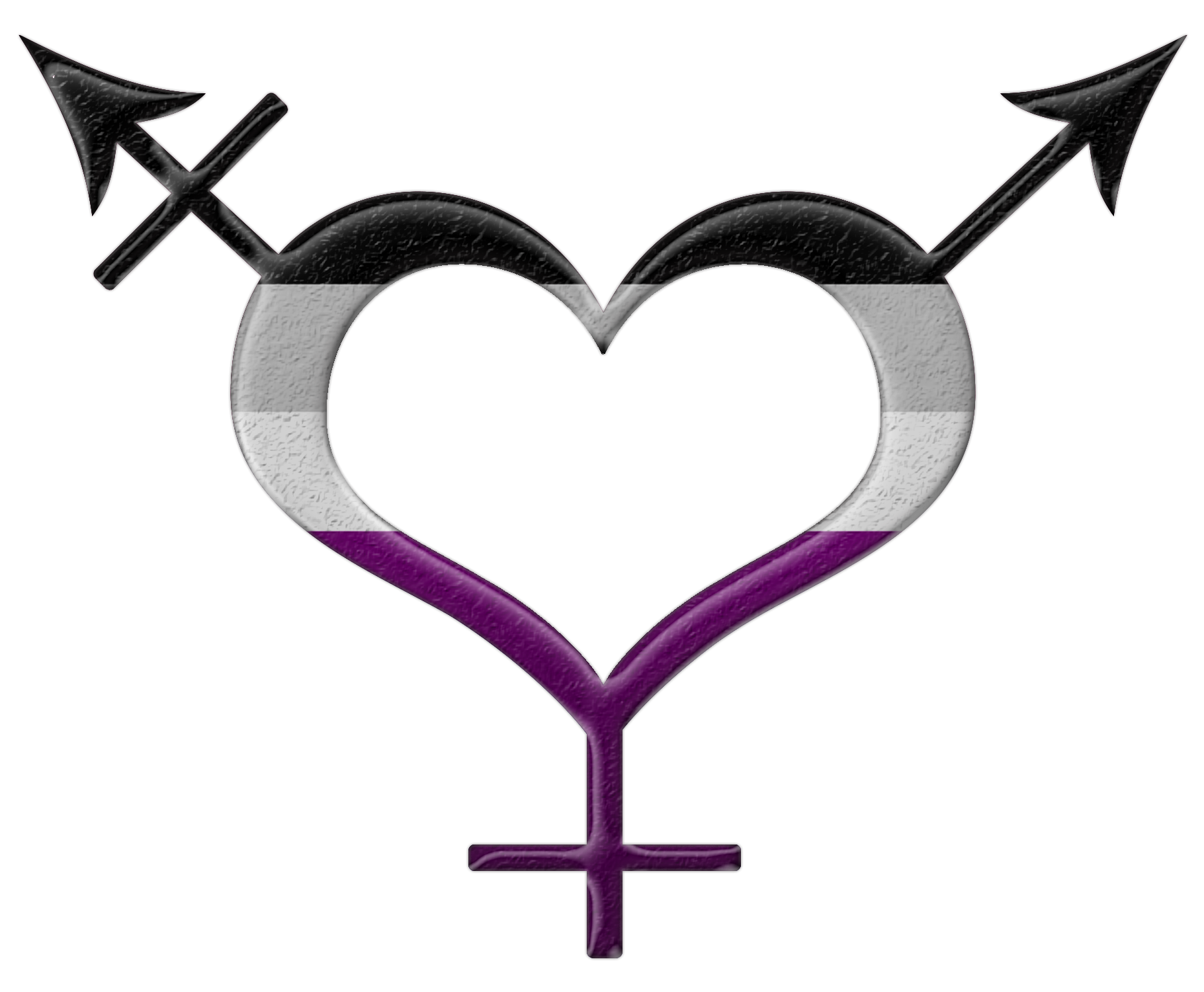 Asexual pride symbols