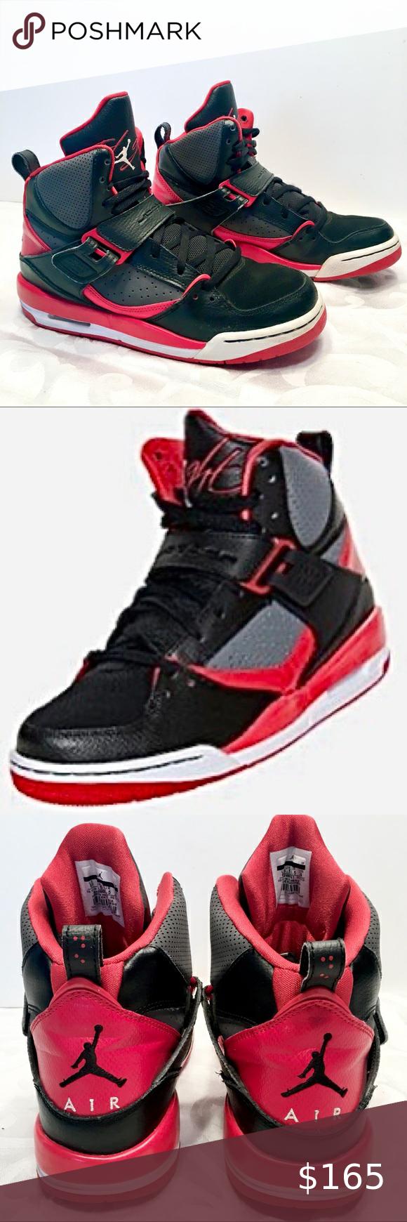 Jordan Retro Banned Throwback Red Black Sneaker 6Y in 2020