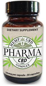 Pharma CBD Capsules 30ct