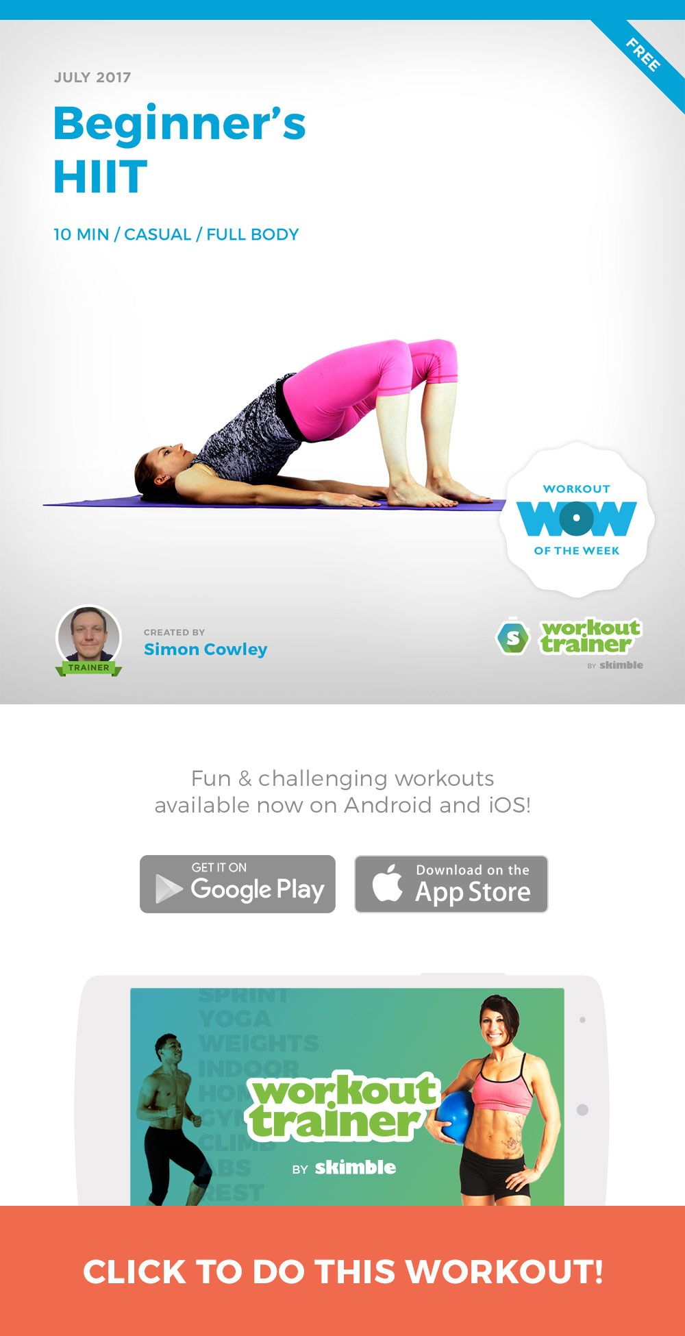 Pin On Free Workout Of The Week