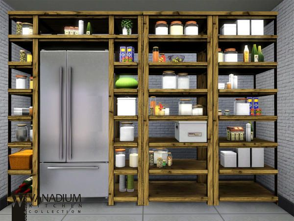 The Sims Resource Tsr Vanadium Kitchen By Wondymoon Sims