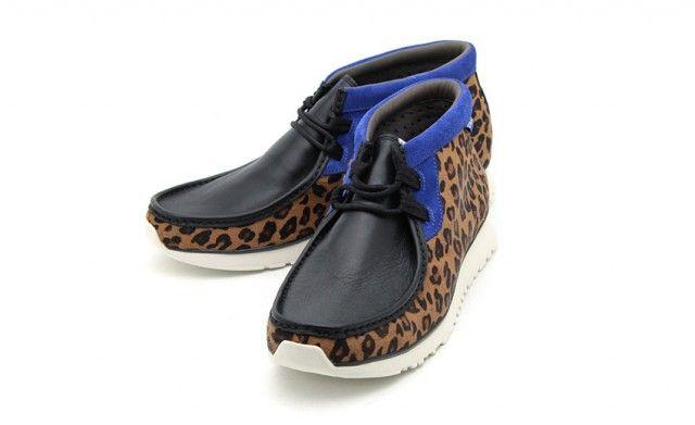 Atmos x Clarks Sportswear Tawyer « Animal Print »