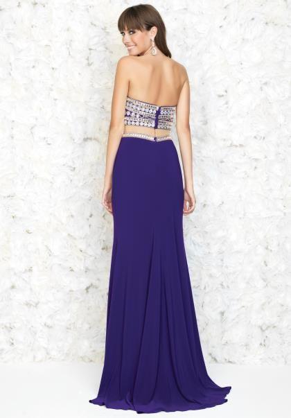 2015 Madison James Jersey Skirt Prom Dress 15-168